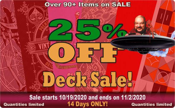 Big Guy's Deck Sale Oct 2020