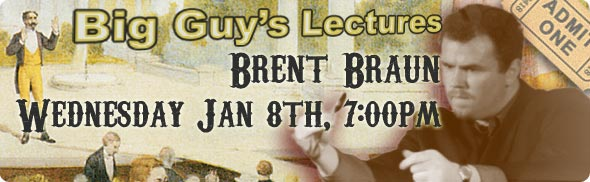 Brent Braun Lecture at Big Guy's Magic Shop