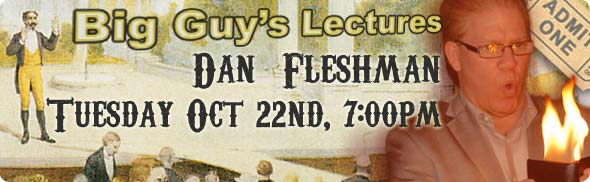 Dan Fleshman Lecture at Big Guy's Magic Shop