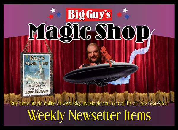 Subscribe to Big Guy's Newletter...