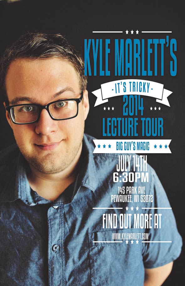 Kyle Marlett Lecture at Big Guy's Magic Shop