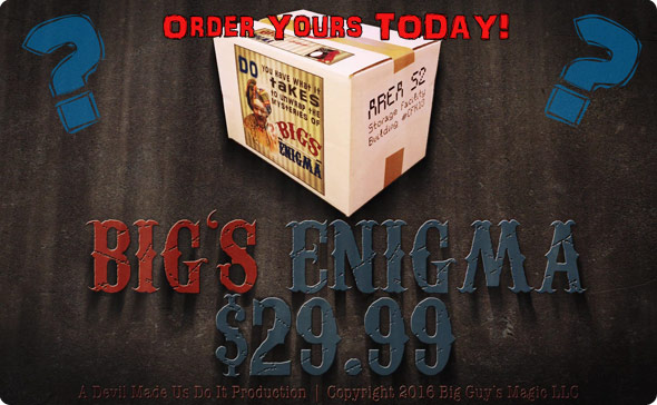 Big's Enigma - by Big Guy's Magic