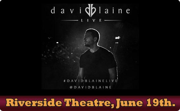 David Blaine Live in Milwaukee, WI