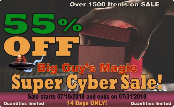 It's a Super Online Cyber SALE. 55% Off Select Items!