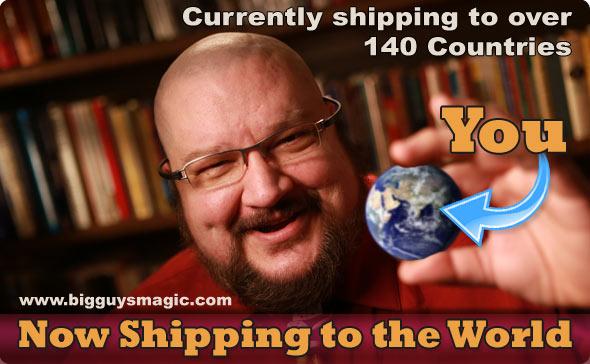Big Guy's ships Worldwide!