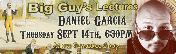 Daniel Garcia lecture at Big Guy's