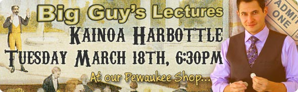 Kainoa Harbottle Lecture at Big Guy's Magic Shop