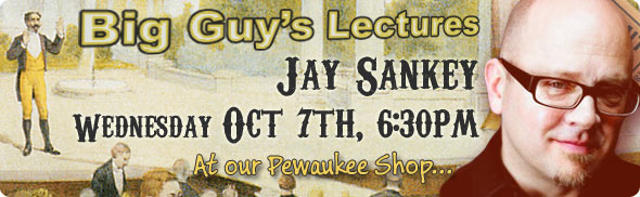 Jay Sankey lecture at Big Guy's
