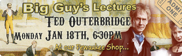 Ted Outerbridge lecture at Big Guy's
